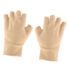 Gant de compression magnétique anti-arthrite Santé Gant sans doigts