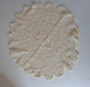 Crochet Doily Circular Pattern 14in
