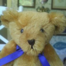 1990s mohair Artist Teddy Bear Bedford Bears, Anne Marie Owens EnglandGuc 10in
