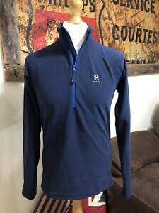Haglofs Astro 1/2 Zip Fleece Mens Medium Blue