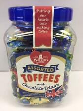 WALKERS NONSUCH Assorted Toffees and Chocolate Eclairs Jars 1.25 kg