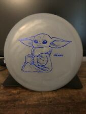 Discraft Luna | Gray With Baby Yoda Blue Shatter Stamp | 174g | Paul Mcbeth