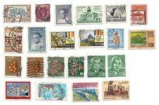CEYLAN CEYLON lot de timbres anciens oblitérés /T63