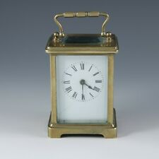 Antique classic brass carriage clock working order and keeping good time
