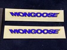 NOS MONGOOSE decal sticker frame handlebars bar seatpost ST007