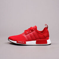 Adidas Originals NMD R1 Boost Scarlet Red New Men gym workout Shoes Rare H01916