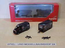 """Herpa 046862, MB Sprinter mit Anhänger """"Fulda Reifen"""", Neuw. Vitrinenm. OVP"""