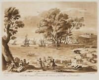 R. EARLOM (1743-1822), n.Lorrain, Europa auf dem Stier, 1776, Mezzotinto