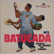 BATUCADA: Escola De Samba BRAZIL Latin Afro RARE SINTER 45 EP Scarce