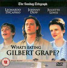 WHAT'S EATING GILBERT GRAPE? Leonardo DiCaprio, Johnny Depp & Juliette Lewis DVD