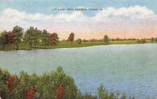 Postcard Loy Lake Near Denison Texas
