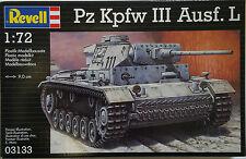 REVELL MODELLO KIT PZ WON III AUSF. L 03133 NUOVO