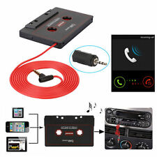 3.5mm AUX Car Audio Cassette Tape Adapter For iPhone iPod MP3 HTC CD Player Mic