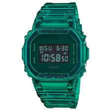 Casio G-Shock Digital Color Skeleton Jelly Green Clear Watch DW5600SB-3 New