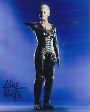 STAR TREK ALICE KRIGE The Queen Borg # 3 hand signed