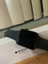 BARELY USED APPLE WATCH SERIES 3 42MM BUNDLE