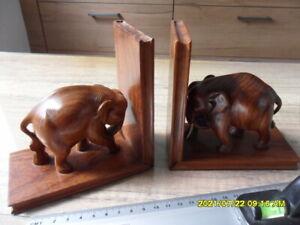 Elefanten in Indien aus Holz