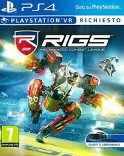 Rigs - Mechanized Combat League  VR    PS4
