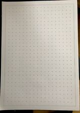 A4 Dot Lattice Graph Paper 150 Sheets For Maths Science + Design 10mm  80gsm