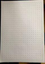 A4 Dot treillis graphique 150 feuilles de papier pour Maths Science + design 10 mm 80gsm
