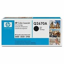 HP Q2670A Toner Cartridge Black 6000 Pages at 5% Colour LaserJet 3500/3550/3700