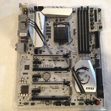 MSI Z170A MPOWER GAMING TITANIUM LGA1151 DDR4 M.2 O.C. Silver ATX Motherboard