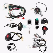 Full Electric Start Engine Wiring Harness Loom for 49 50 80 90 100 110 125cc ATV
