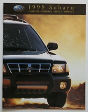 SUBARU 1998 dealer brochure - English - Canada - ST1002000918
