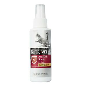 Cat Anti Itch Spray Relief from Itching and Hot Spots 4 Oz Made in USA