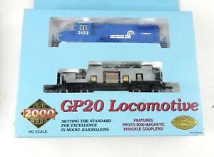 Life-Like Proto 2000 Series HO #8128 Conrail GP20 DIESEL LOCOMOTIVE 2103 ~ T117