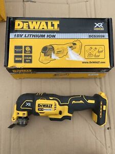 Dewalt DCS355N 18v XR Brushless oscillating multi tool naked body only