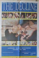 THE DECLINE OF WESTERN CIVILIZATION 39x55 Movie poster GERMS-X-BLACK FLAG-FEAR