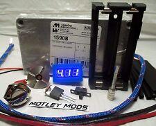 Box Mod DiY Kit*Hammond 1590B*510 Connector*18650*Mosfet*Voltmeter*Motley Mods*