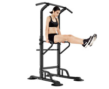 NEW Multi Gym Pull Up Dip Station Power Tower Weights Training Fitness All In On
