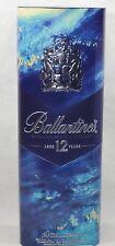 BALLANTINE'S WHISKY Boite métal vide bouteille 70 cl