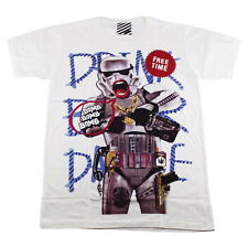 ARAINA Men T-Shirt Stormtrooper Boombox Old School Street Style Casual #AR03