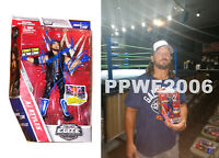 WWE AJ STYLES HAND SIGNED AUTOGRAPHED ELITE 47A TOY FIGURE WITH PICTURE PROOF