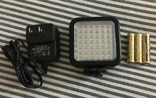 LED 36 Video Light 36 LED Lights for DSLR Camera Camcorder mini DVR