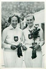 Gisela Mauermayer Paula Mollenhauer Discus throw Germany OLYMPIC GAMES 1936 CARD