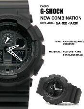 Casio G-Shock GA100-1A1 Wrist Watch for Men Resin Strap Black Free