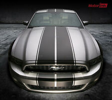 2013 14 Ford MUSTANG Rally Double Full Over the Top Racing Stripes Decals Sport