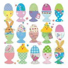 40 x Coniglietto Pasqua Polli Uova Festa 3 Strato Carta Napkins 33cm x 33cm