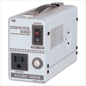 Transformer Voltage Step Down Converter 220-230V to 100V 510VA Swallow Japan NEW