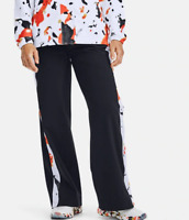 NWT Under Armour Women's UA RECOVER Woven Upstream Camo Wide Leg Pants L MSRP$80