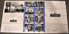 MANHATTAN 1979 ORIG 41X77 INTL 1-STOP MOVIE POSTER WOODY ALLEN DIANE KEATON