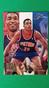 Isiah Thomas 1994-95 Flair USA Basketball #102   Detroit Pistons