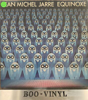 """Jean Michel Jarre – Equinoxe Vinyl 12"""" LP Polydor POLD 5007 1978 A1/B1 EX CON"""