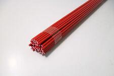 5510) PVC, polychlorure de vinyle, rouge, Tige, Fil de soudage, ø 3mm