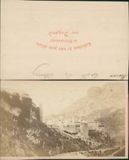 Degand, France, Monaco , tête de chien  Vintage CDV albumen carte de visite