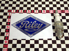 Riley adesivo cromato-ELF RM kesterel Autocollant Aufkleber Adesivo κόλλημα